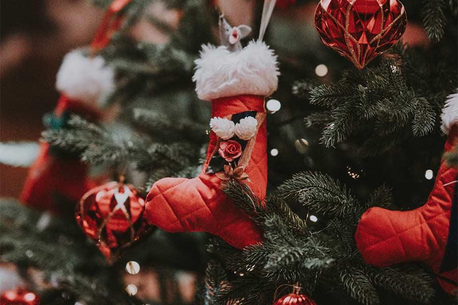 Weihnachten zuhause - stimmungsvolle Dekoration