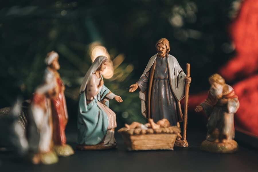 Weihnachten zuhause - Die Weihnachtsgeschichte