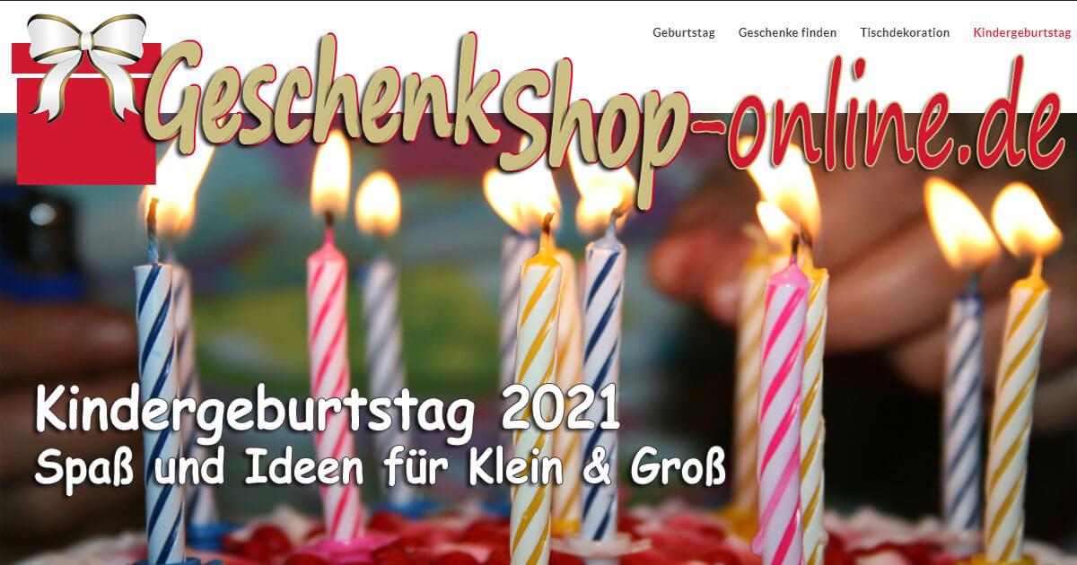 Kindergeburtstag 2021 - Spaß und Ideen für Klein & Groß